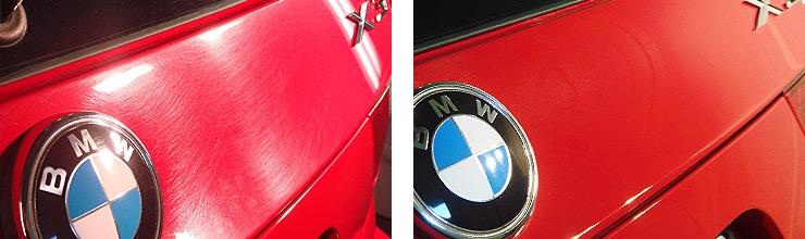 Полировка BMW X3