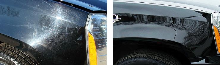 Полировка Cadillac Escalade