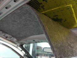 шумоизоляция потолка acura